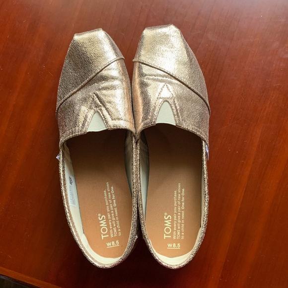 Toms Shoes | Alpargata Rose Gold